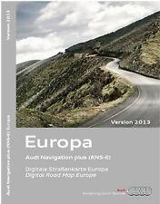 AUDI A3 A4 A6 TT R8 2013 EDITION EUROPE RNS-E NAVIGATION DVD - 8P0 060 884 BK