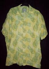 Jimmy Buffett Margaritaville Pineapple Hawaiian Camp Shirt Mens XL X-Large