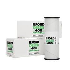 3x Ilford Delta 400 120 Rollfim Analogfilm s/w b/w schwarz Weißfilm