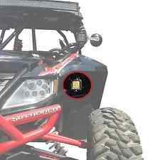 50 Caliber Arctic Cat Wildcat 1000 4X Limited Lower Fender LED Cube Pod Mounts