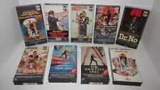 007 James Bond - Original Release VHS Collection - CBS FOX Lot of 9 Bond Films