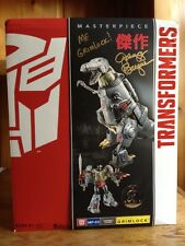Transformers Masterpiece Grimlock #2 Signed By Gregg Berger At Botcon 2016 MISB
