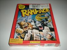 Rampage game for Commodore 64 & 128 by Activision. New. Factory sealed box.