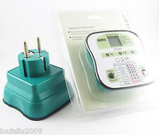 1pc NEW DUOYI DY207 Electrical Socket Tester RCD Plug ( EU ) Europe Version