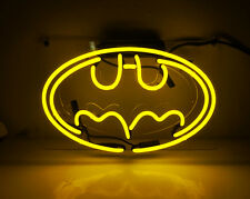Batman Beer Bar Gift Poster Real Neon Light Sign Superhero Party Home Wall Decor