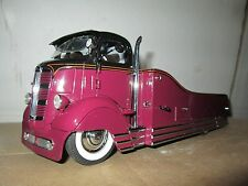 1930's CUSTOM CAR CARRIER FLAT BED TRUCK COE DANBURY MINT 1/24 hauler limited