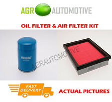 PETROL SERVICE KIT OIL AIR FILTER FOR NISSAN SUNNY 1.6 102 BHP 1994-00