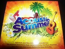 Acoustic Summer Aust Various 2 CD Taylor Swift Jason Mraz John Mayer - Like New