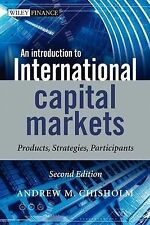 An Introduction to International Capital Markets: Products, Strategies,...