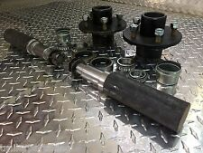 "TRAILER AXLE KIT - 3.5K, 3500 lb, Idler, 5 on 4.5"", ROUND Spindles Build An Axle"