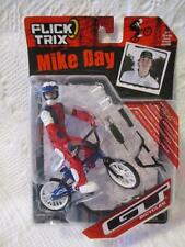 New NIP Flick Trix Pro Rider Mike Day GT Bicycles Finger Bike Set Figure Sealed