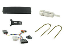 CTKFD19 Ford Focus MK1 Single Din Car Stereo Fitting Kit & stalk control BLACK