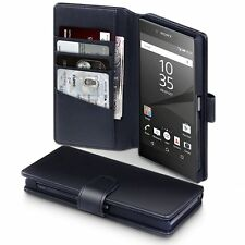 Sony Xperia Z5 Premium Wallet Case With Stand Flip Cover Low Profile Protector