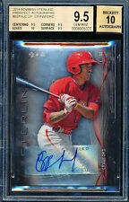 2014 BOWMAN STERLING J.P. JP CRAWFORD BGS 9.5 10 AUTO ALL SUBS 9.5+