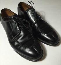 Allen Edmonds Hancock Black Leather Split Toe Shoes Size 11