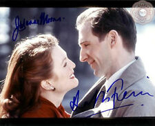 Ralph Fiennes - Julianne Moore - Autograph Photo - End of the Affair - COA
