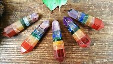7 Chakra Crystal Double Terminated Point ~ 257