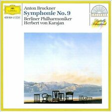 Bruckner: Symphonie no 9 / Karajan, Berliner Philharmoniker (CD, Mar-1991, DG...