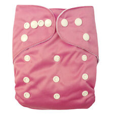Alva BABY Pink RE-USABLE Onesize CLOTH  Pocket DIAPER NAPPY + 1 INSERT B08