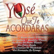 Yo Se Que Te Acordaras (CD) Patrulla 81, Radar, Azabache, Chicos Banda,Diamantes