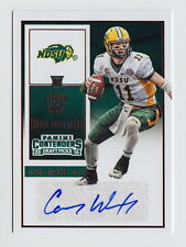 2016 Contenders Draft Picks Carson Wentz Red Foil Auto Rc SSP /50 or Less
