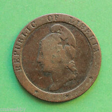 1862 - Liberia - Two Cents - SNo39830