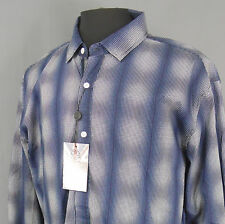 English Laundry - NEW - Men's Long Sleeve Shirt Size 2XL- Navy & White -67A