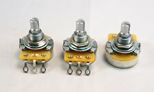 -Set of 3- CTS Standard Pots - USA shaft - 500 k ohm