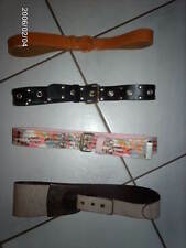 Ceintures IKKS cuir et tissu taille 160 cm ou 60/24