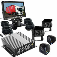 TRUCK--COACH- DVR- CCTV-  RECORDING SYSTEM INCLUDES 4 CAMERAS CABLES +MONITOR
