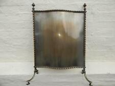 ANTIQUE METAL / BRASS ? FIRE SCREEN ARTS & CRAFTS / NOUVEAU ?