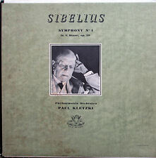 35313 Sibelius Symphony no. 1 Paul Kletzki VG/EX Angel Mono Made in Canada