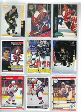 Lot of 1000 (One Thousand) Kevin Hatcher Hockey Card Collection Mint