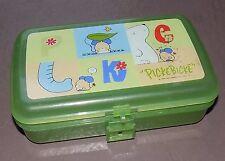 VTG 1997 Sanrio Picke Bicke PickeBIcke Mouse Green Plastic Pencil Box Container