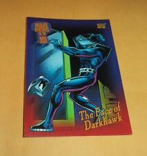 The Face Of Darkhawk # 138 - 1993 Marvel Universe Series 4 Base Trading Card
