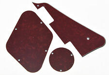 Red Pearl LP Pickguard & Back Plate Switch Cavity Covers for Gibson Les Paul