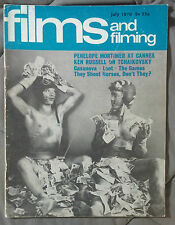 JULY 1970 FILM AND FILMING MAGAZINE MOVIES MORTIMER CANNES CASANOVA LOOT
