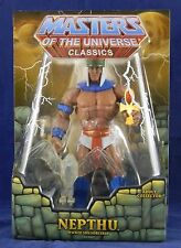 MOTUC Masters of the Universe Classics Nepthu New in Mailer