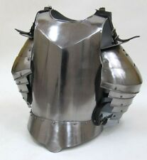 MEDIEVAL SUIT OF ARMOR BREAST PLATE & SHOULDER,HALLOWEEN COSTUME