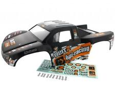 HPI 1/10 Blitz Flux * SKORPION BLACK & ORANGE BODY, DECALS & 10 BODY CLIPS *