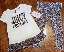 JUICY COUTURE AUTHENTIC BABY GIRLS BRAND NEW 2Pc DRESS LEGGING SET Sz 3T, NWT