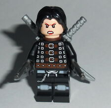 MOVIE Lego Resident Evil Alice w/accs Custom NEW Zomibe Genuine Lego parts #1