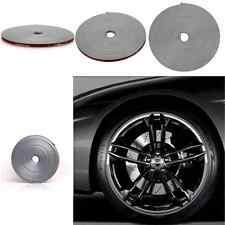 Silver Grey Car Tire Wheel Rim Edge Anti-Scratch Protector Ring Tape Rubber Line