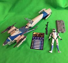 The Clone Wars BARC SPEEDER BIKE with CLONE TROOPER JESSE Star Wars