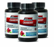 Cranberry Tablets - Cranberry Extract 50:1 - Heart Health Capsules 3B