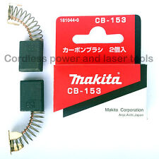 Makita 3601B 3612BR Router CB153 Carbon Brushes Genuine Original Part 181044-0