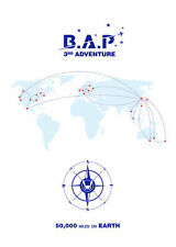 B.A.P - BAP 3rd Adventure[50000Miles on Earth]DVD+Photobook+Photocard+Postcards