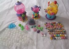 Squinkies Lot People Animals Bubbles Furniture Cupcake Bakery Teapot Dispensers