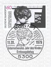 BRD 1979: Jahr des Kindes Nr. 1000 mit sauberem Bonner Sonderstempel! 1A! 1512