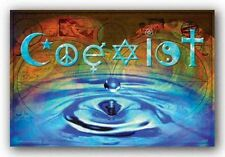 INSPIRATIONAL POSTER Coexist Waterdrop